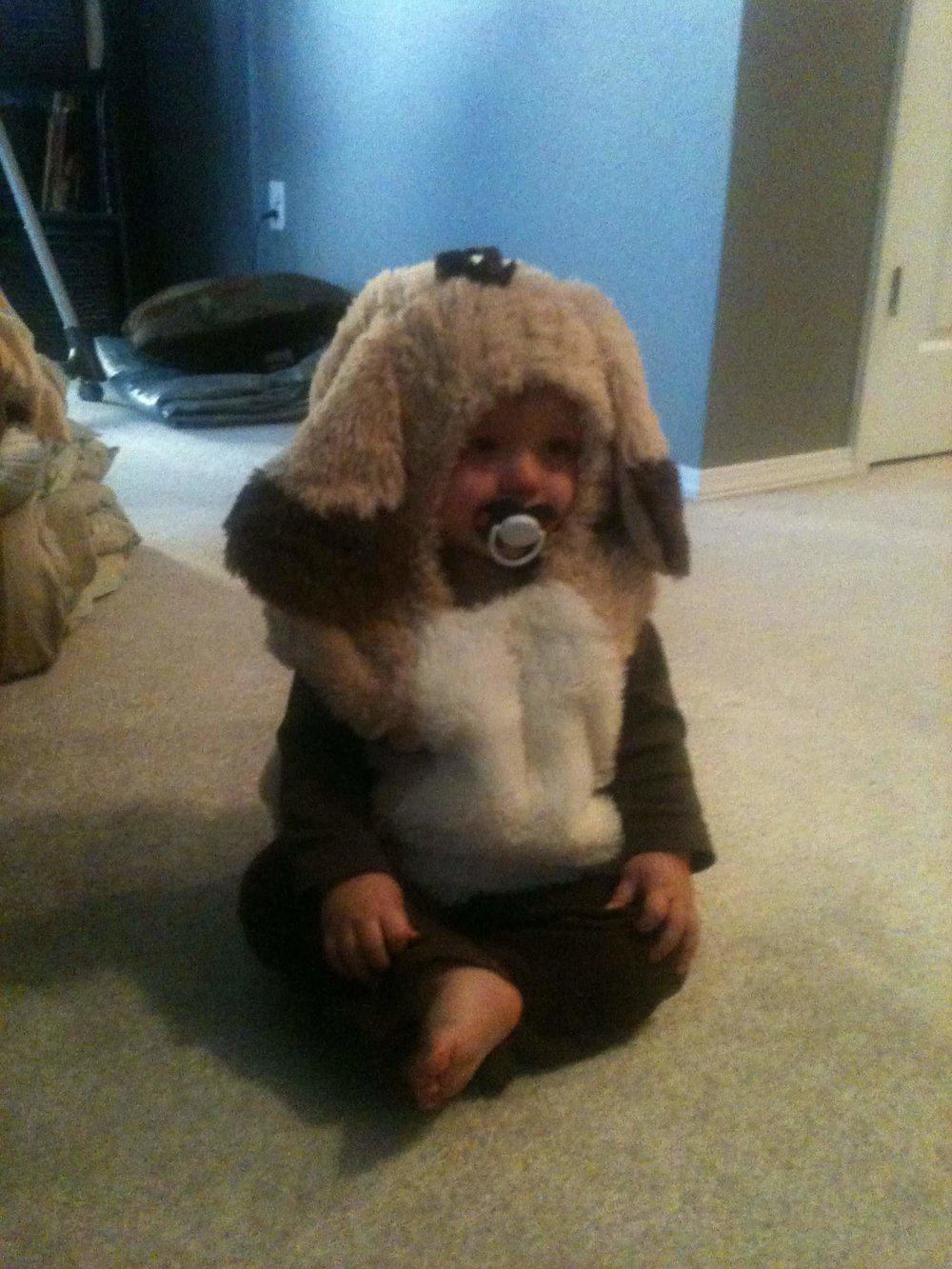 Caleb as Boone for 1st Halloween