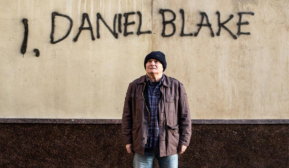 """Ken Loach's I, Daniel Blake (2016)Special Preview Screening Saturday 24th September Showtimes 5pm & 6pm, FACT Cinema. 88 Wood Street, Liverpool L1 TWT is hosting a special preview screening of I, Daniel Blake -Ken Loach's new Palme D'Or-winning motion picture.The film follows Daniel Blake, 59, who has worked as a joiner most of his life in Newcastle. Now, for the first time ever, following an illness, he needs help from the State. He crosses paths with single mother Katie and her two young children, Daisy and Dylan. Katie's only chance to escape a one-roomed homeless hostel in London is to accept a flat in a city she doesn't know, some 300 miles away. Daniel and Katie find themselves in no-man's land, caught on the barbed-wire of welfare bureaucracy as played out against the rhetoric of 'striver and skiver' in modern-day Britain. Speaking on his decision to hold a special preview of the film as part of The World Transformed, Loach said, """"This festival is such a good idea that you wonder why it hasn't happened before. Political ideas can spring from songs, literature, film, pictures- all the many ways in which we imagine the world, how we live together, the possibilities and danger we face, all these are explored through art. But it is no accident that the festival is being organised as part of the movement that has seen Jeremy Corbyn and his allies re-invigorate the Labour Party."""" Tickets available on the cinema website from Tuesday 13th of September."""