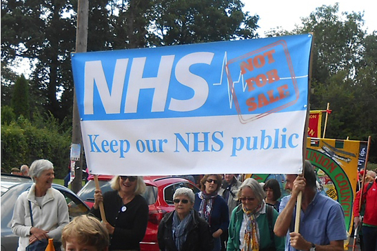 "Straight-talking NHS Politics vs ""Sustainability and Transformation Plans""                                     9am - 11am, The Gallery.                                       Hosted by Momentum NHS & Keep Our NHS Public. NHS privatisers love hiding behind jargon, secrecy and lies to destroy our NHS. Instead, come and get a clear picture of the current struggles, including against secretive ""STPs"", so you can help bring the fight to them locally and nationally."