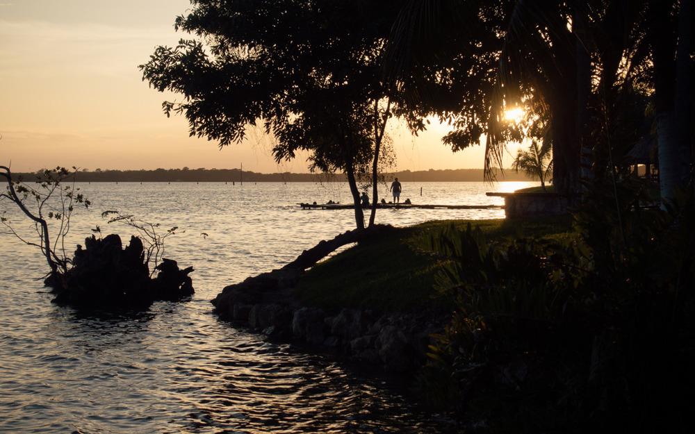 Take me back. | Laguna Bacalar, Quintana Roo, Mexico.
