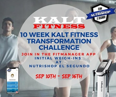 We are excited for our Upcoming 10 Week Transformation Challenge!  Starts Monday, September 10th 😀! Don't miss out.  All info can be found in the link in our profile. #manhattanbeach #hermosabeach #redondobeach #torrance #lawndale #hawthorne #elsegundo #fatloss #getstrong #getlean #fitness #fitfam #fitnesstransformation #personaltrainer #personaltraining #kaltfitness #nutrishopelsegundo