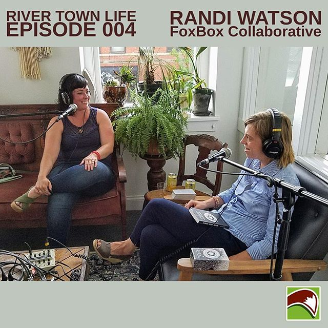Whoa, have you listened to our local podcast, River Town Life hosted by the always lovely @breatree of @fawngifts?  Brea covers interesting tidbits about life in Batavia, a sweet little tarot reading, and the ever important topic of self-care.  _____ Brea and Jaime of  @foxvalleyvoice graciously invited me to talk about FoxBox Collaborative and all the awesome folks who make up our dreamy little river town/valley.  _____ Give it a download and listen to learn a little bit more about our mission at the FoxBox Collaborative.  _____ Major props to @foxvalleyvoice for his wizardly production talents behind River Town Life.  Do yourself a favor and subscribe to his YouTube channel to hear many more awesome stories and interviews all based here, in the #FoxValley. *shameless plug alert*  link in profile