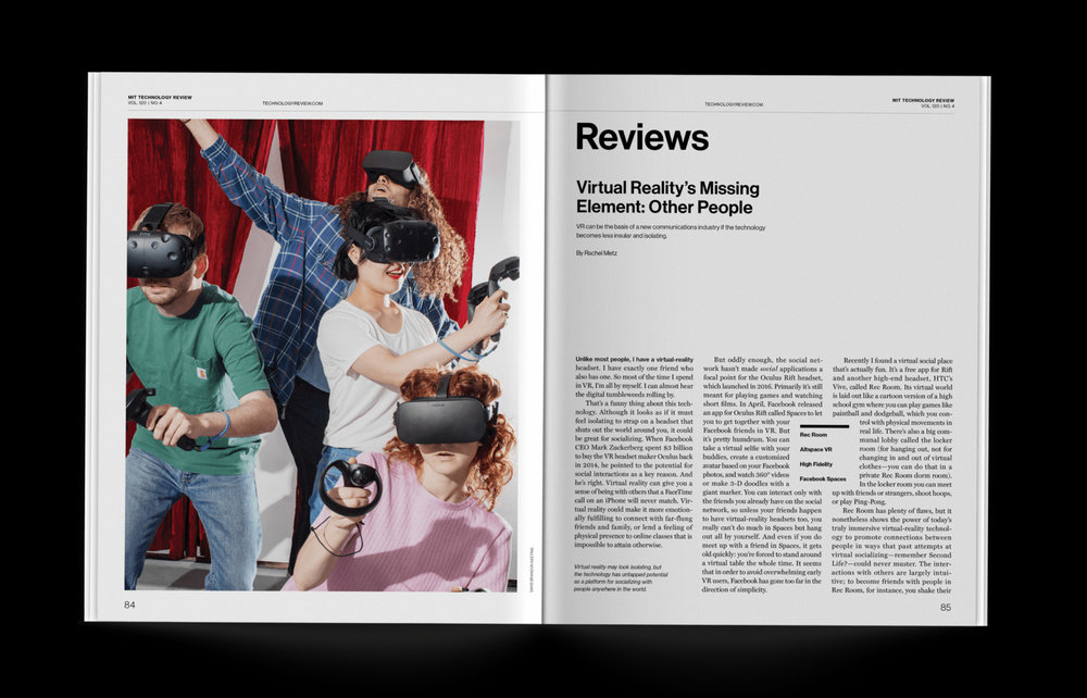 Virtual Reality's Missing Element: Other People