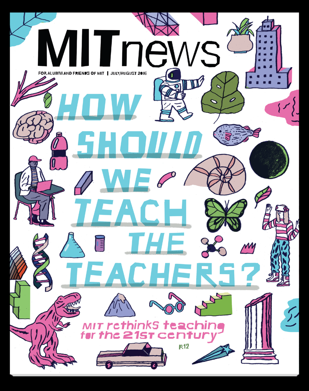 May 2016 MIT News cover