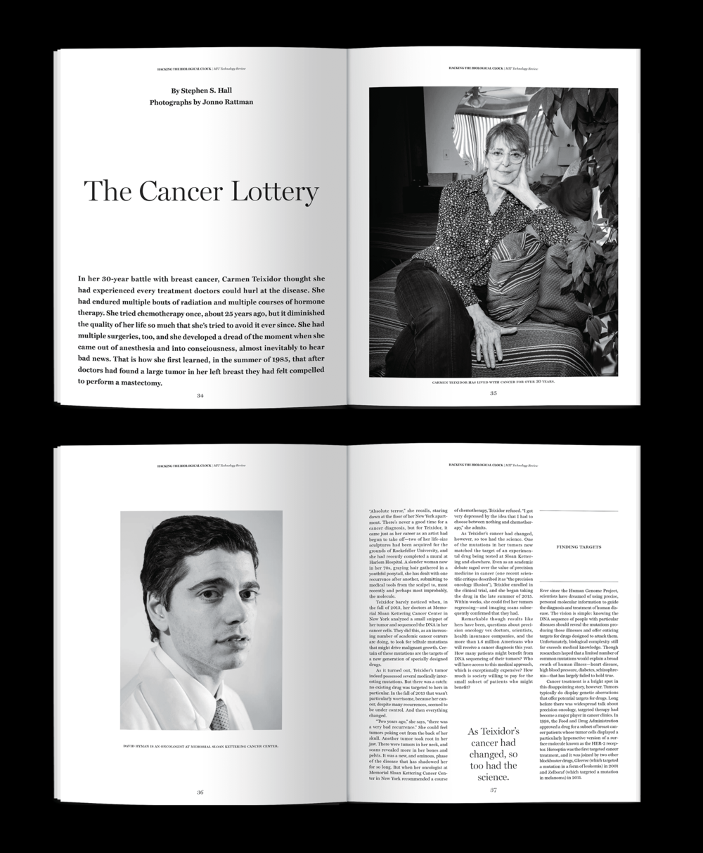 The Cancer Lottery