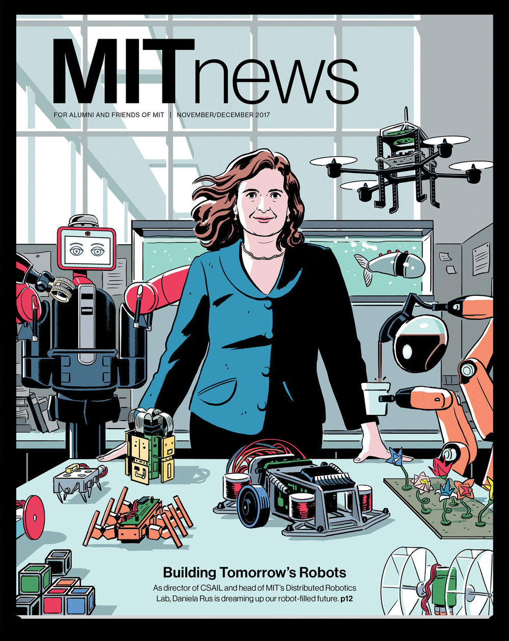 January cover of MIT News