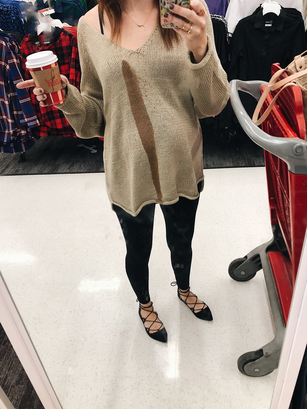 Remember that one time i spilled coffee all over myself in the middle of target? Me too.