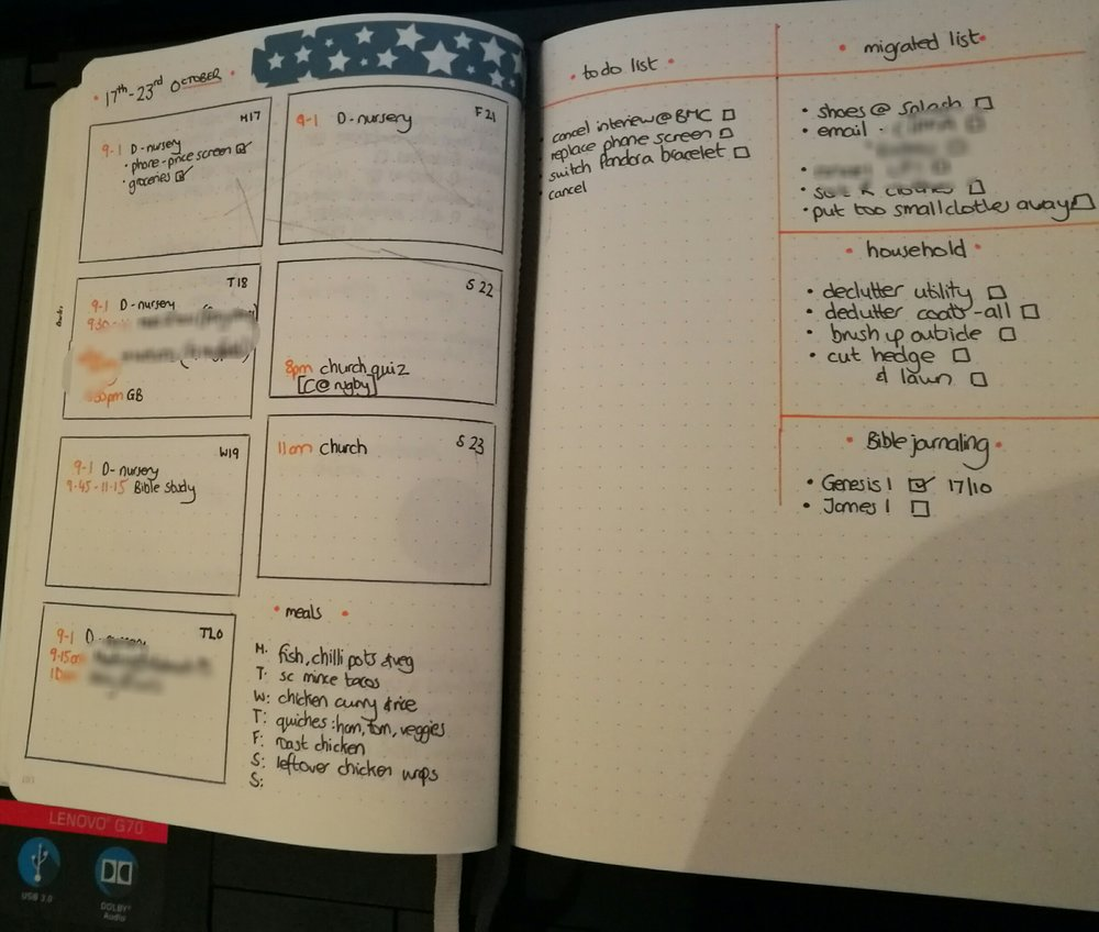 This week's layout