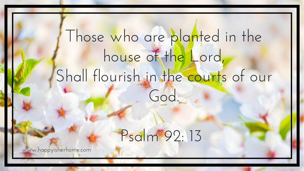 Psalm 92 13