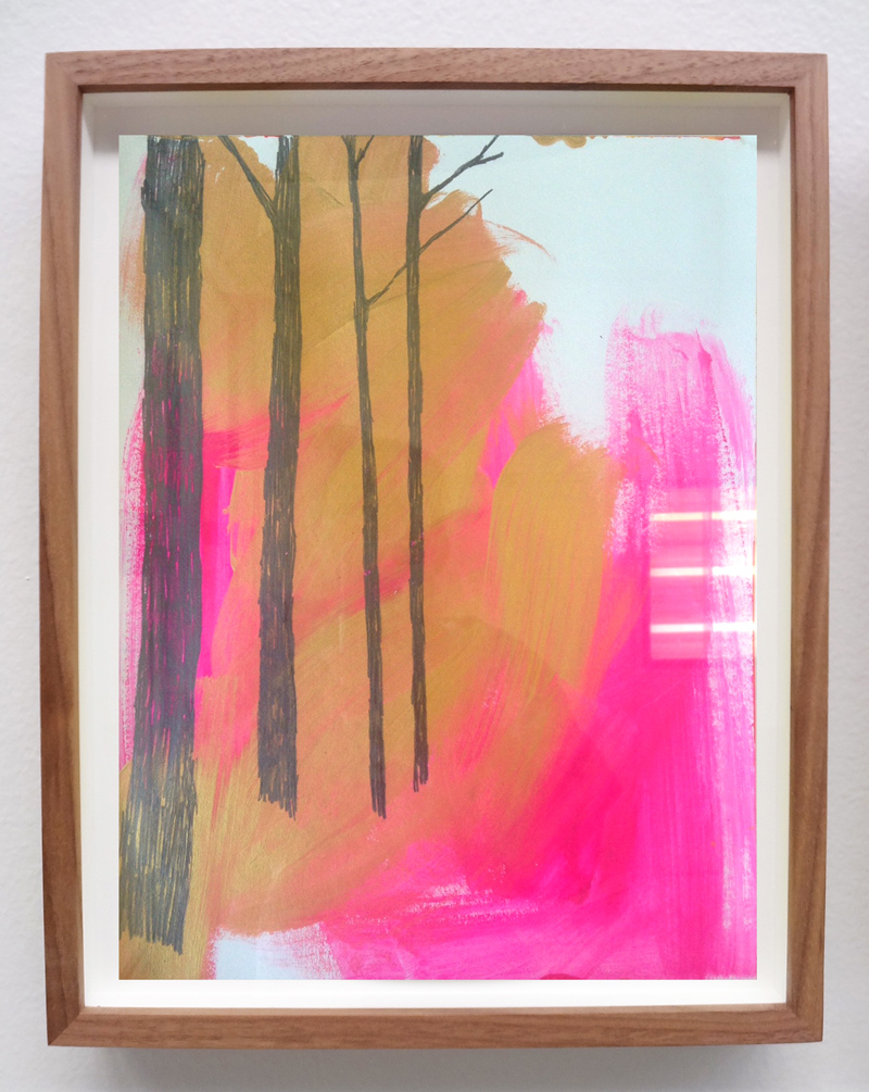 Meghan Gerety  Various Titles,  2014-2016 graphite and acrylic on paper 14 x 11 in., framed in waxed walnut