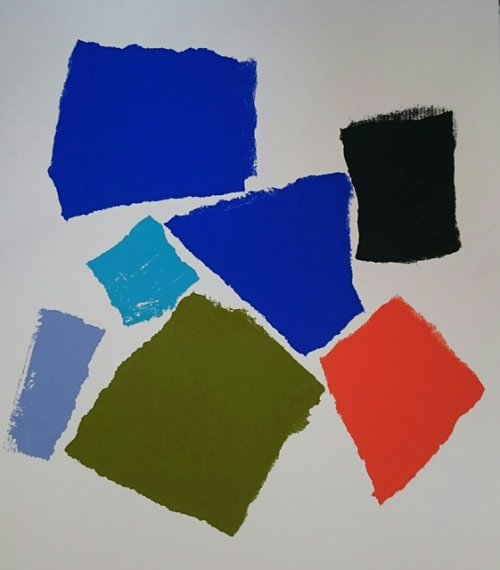 Charlotte Culot  Color Field , 2016 serigraph 29 1/2 × 22 in. edition of 10