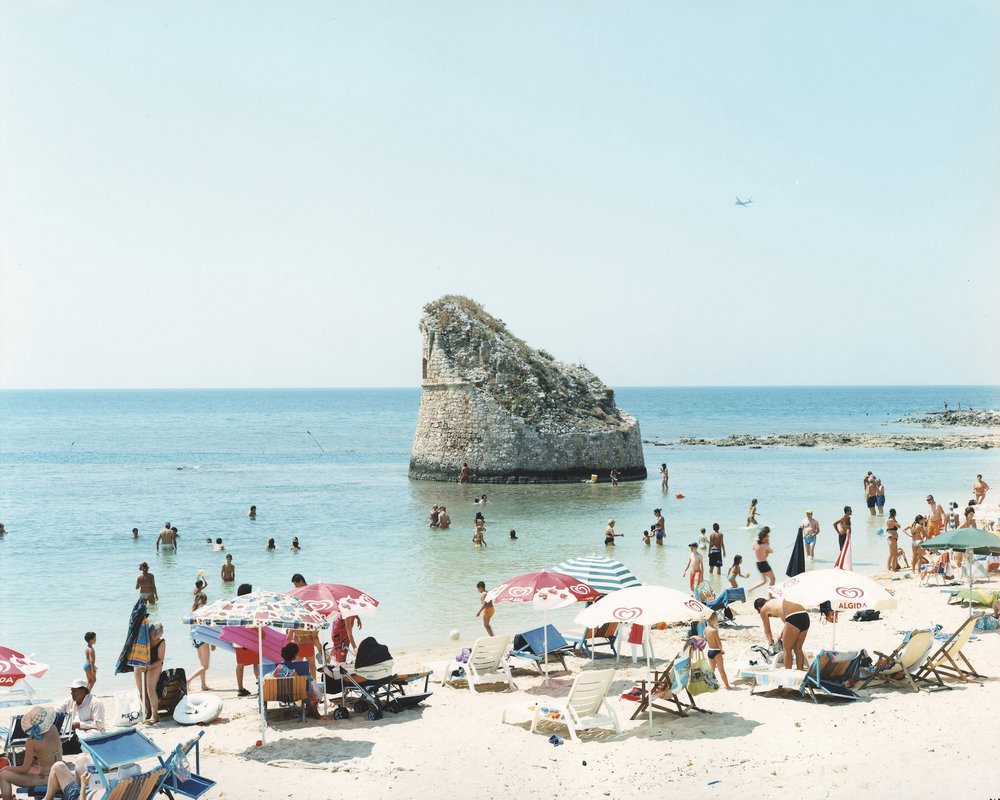 Massimo Vitali  Torre Pali, Puglia , 2010 chromogenic print with Diasec mount 60 x 72 in. edition of 6