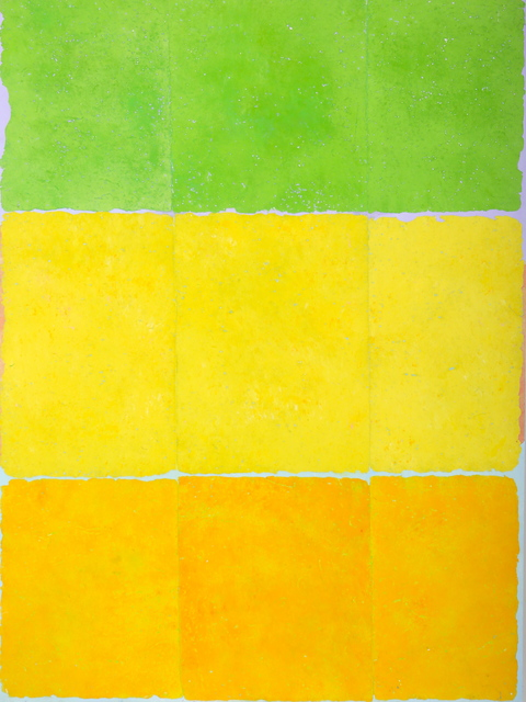 Charlie Miesmer  Color Panels #3 , 2007 mixed media 48 × 30 in.