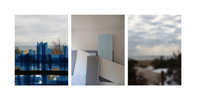 Sandi Haber Fifield  Montauk Blue,  2011 digital archival pigment print 24 x 38 in. (edition of 8) 38 x 61 in. (edition of 5)