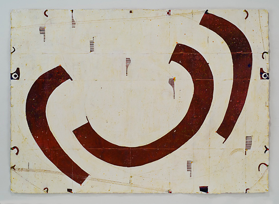 Caio Fonseca  Pietrasanta P07.38, 2010 gouache on paper 30 x 42 in.
