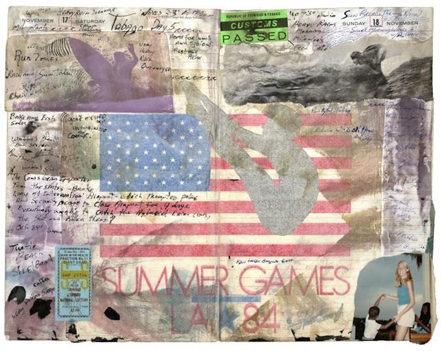 Tony Caramanico  Summer Games, Nov 17-18, 1984 , 2010 available as: 16 1/4 x 18 3/4 in. print (edition of 12) 27 x 33 in. print (edition of 12) 34 x 43 in. stretched canvas print (edition of 7) 4 x 55 1/4 in. stretched canvas print (edition of 3)