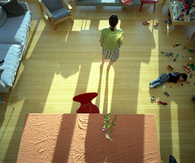 Bastienne Schmidt  Julien and His Lego, Bridgehampton, 2004 , 2004 c-print 30 x 40 in. (edition of 9) 20 x 24 in. (edition of 15) 16 x 20 in. (edition of 25)