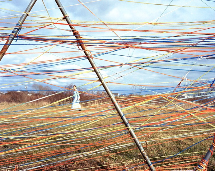 Bastienne Schmidt  Strings Attached, Bridgehampton, 2009 , 2009 c-print 30 x 40 in. (edition of 9) 20 x 24 in. (edition of 15) 16 x 20 in. (edition of 25)