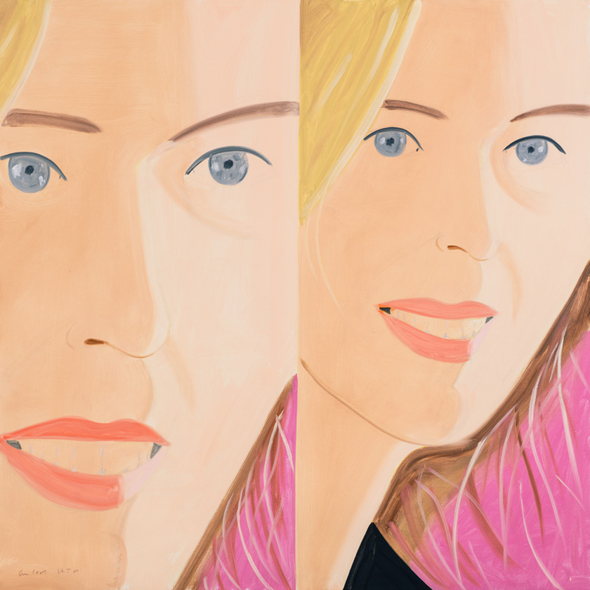 Alex Katz  Sasha 2 , 2016 archival pigment print on Crane Museo Max 365 gsm art paper 34 x 34 in. edition of 100
