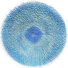 Christine Matthäi  Feeling Blue in a Circle