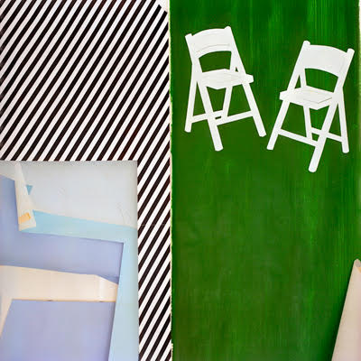 Laurie Lambrecht  2 Chairs , 1991 archival pigment print 24 x 24 in. edition 1/12