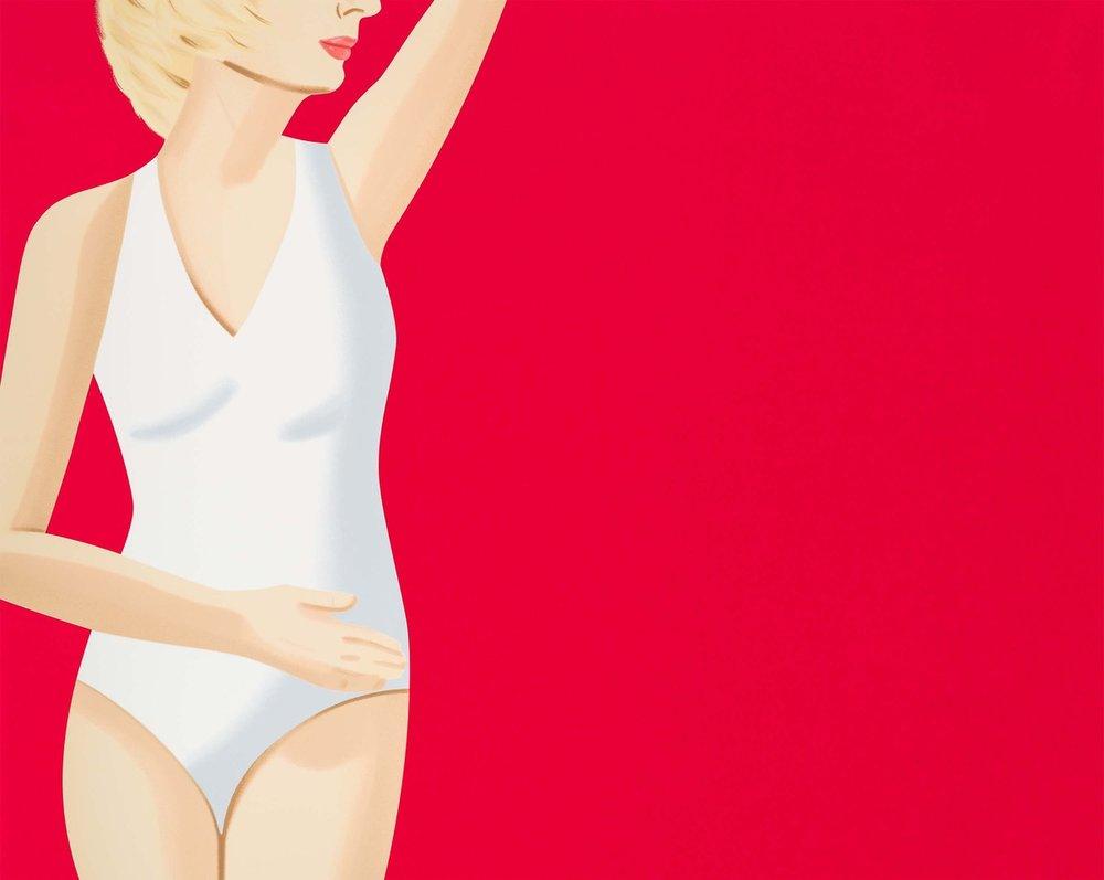 ALEX KATZ  COCA-COLA GIRL 4  18-color silkscreen 40 x 50 in. edition of 60