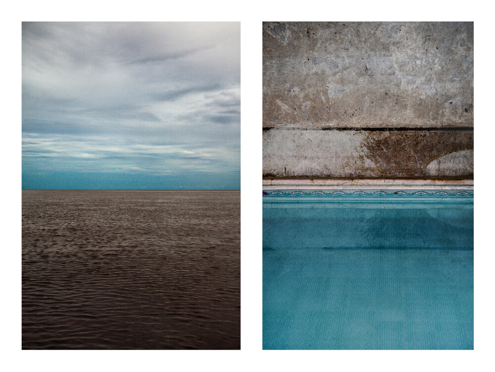 GUSTAVO TEN HOEVER  Marron 1 and II , 2013 c-print diptych 47 × 31 in. edition of 10