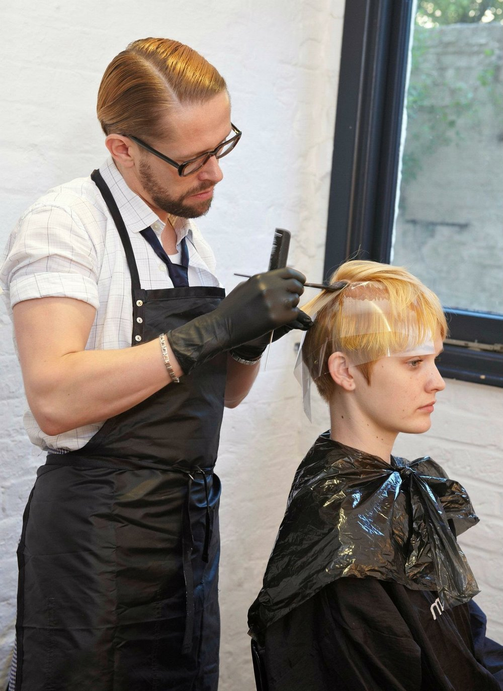 Jayson Gray Colouring Hair