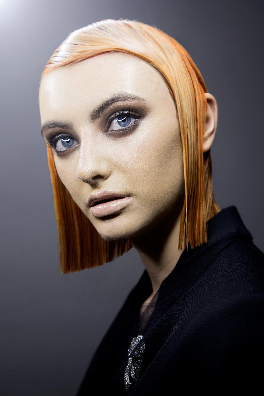 Aoife Bradley & Jenny Dawson creative hair work