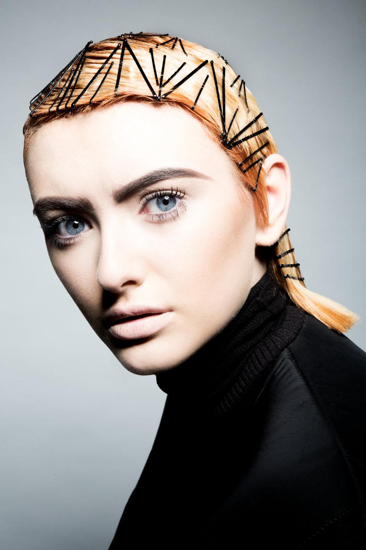 Aoife Bradley & Jenny Dawson editorial hair look