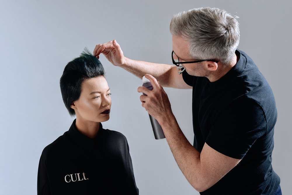Brett MacDonald on Hairdressing Live