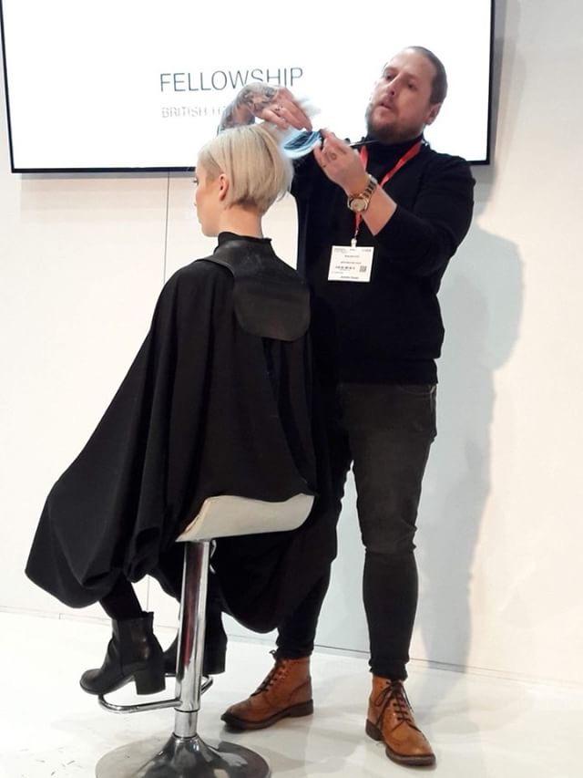 Ben Brown Hairdressing Live