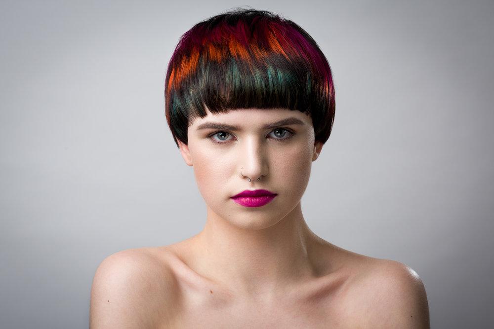 Olive Tucker Hair Colour
