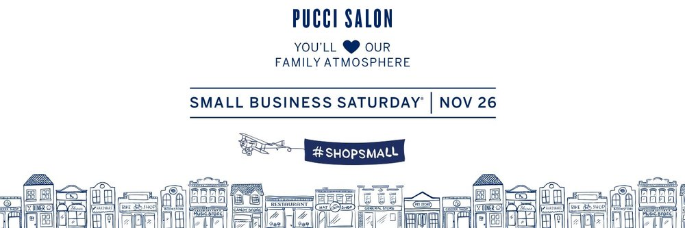 pucci salon small business saturday