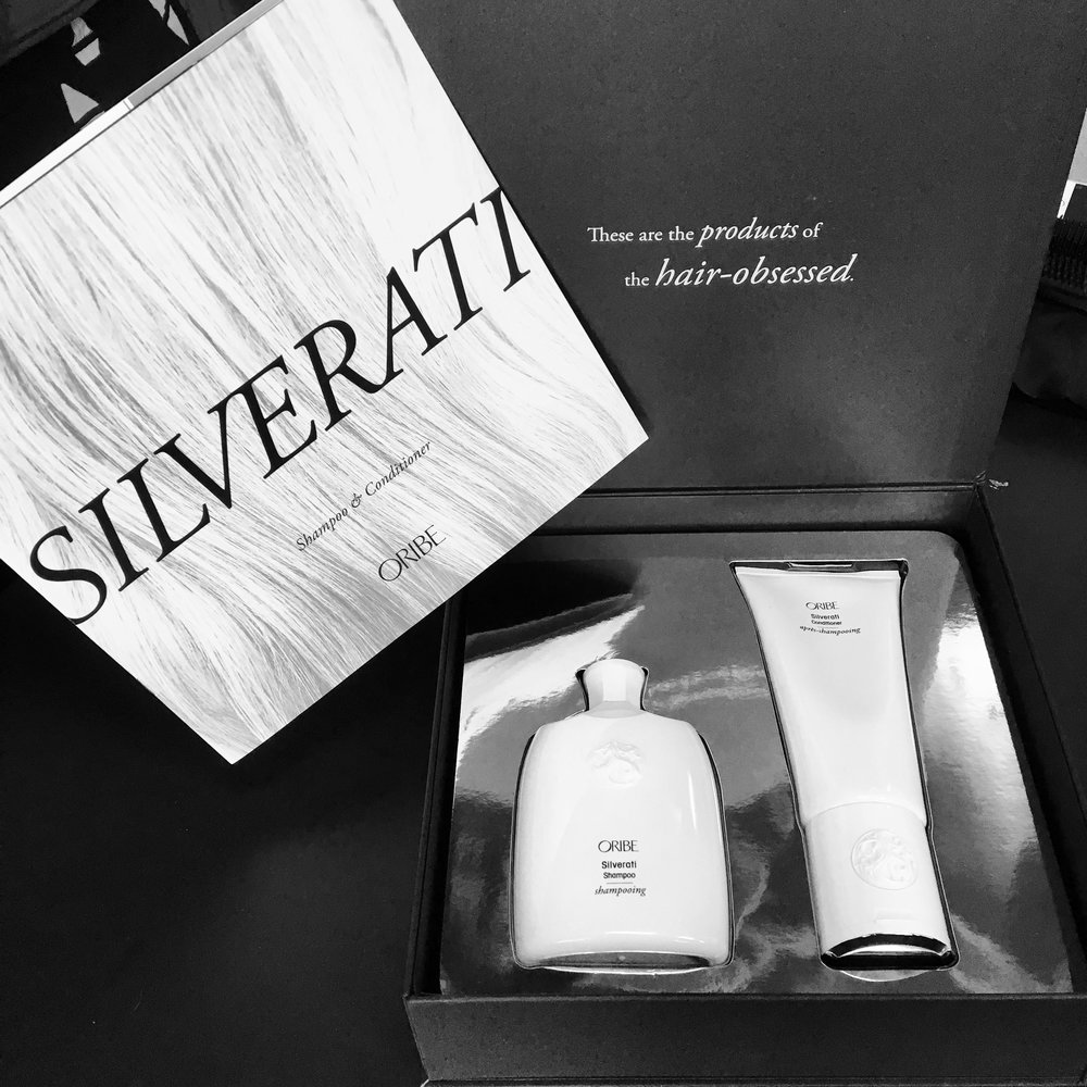 Stay sterling with new Oribe Silverati Shampoo and Conditioner