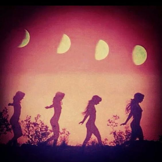 red moon womens circle