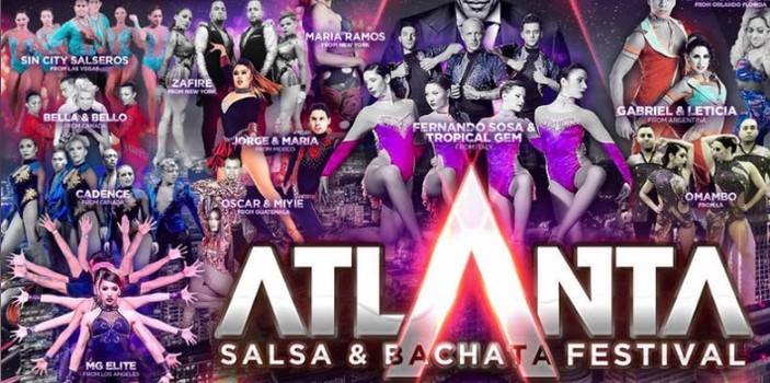 Atlanta Salsa and Bachata Festival - March 7-11 2019Tons of workshops, performances, social dancing and more! You can go just for the parties or take advantage of the full weekend and dance your face off. More info on their website, click here. A big group from Charleston is going so if you need help coordinating a ride or place to stay, connect in the Holy City Salsa Dance Fam group on Facebook.