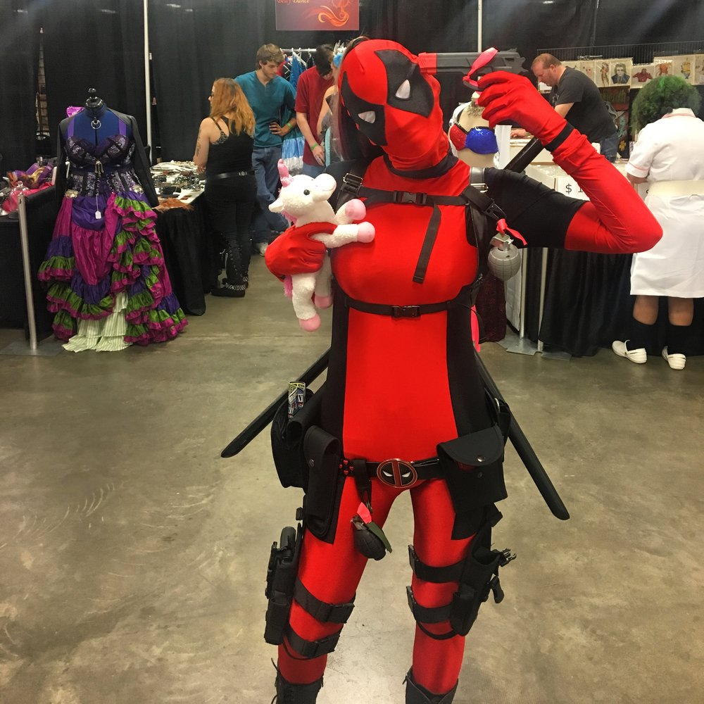 Great Lady Deadpool Cosplay 👍🏾👍🏾
