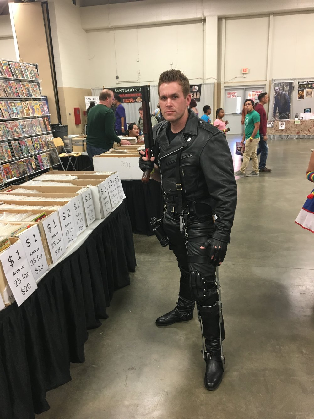 Some Road Warrior: Mad Max Cosplay