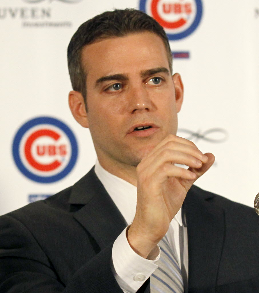 Theo Epstein is President of Baseball Operations for the Chicago Cubs