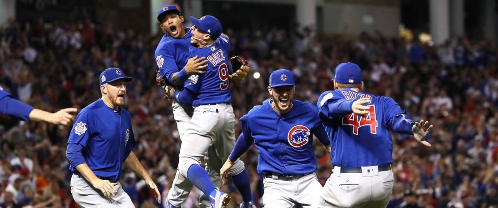 2016 World Series Champions Chicago Cubs