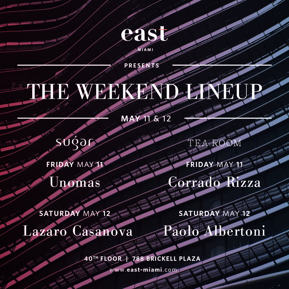 Weekend Lineup May 11-12 2018.jpg