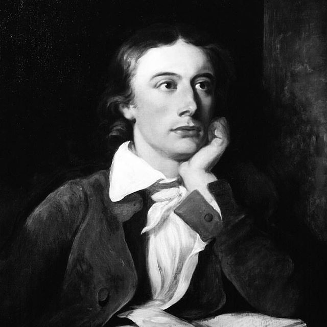 """Give me books, French wine, fruit, fine weather and a little music played out of the doors by someone I don't know"" John Keats"