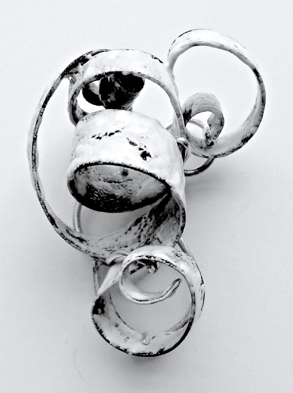 Mitchell, Valere,  Desert Snow Swirl brooch .jpg