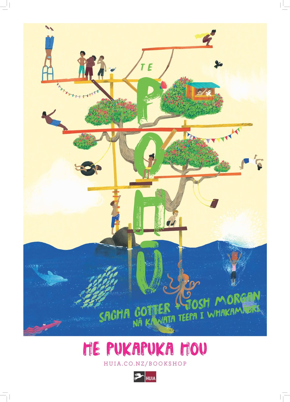 Te Pohū - Poster
