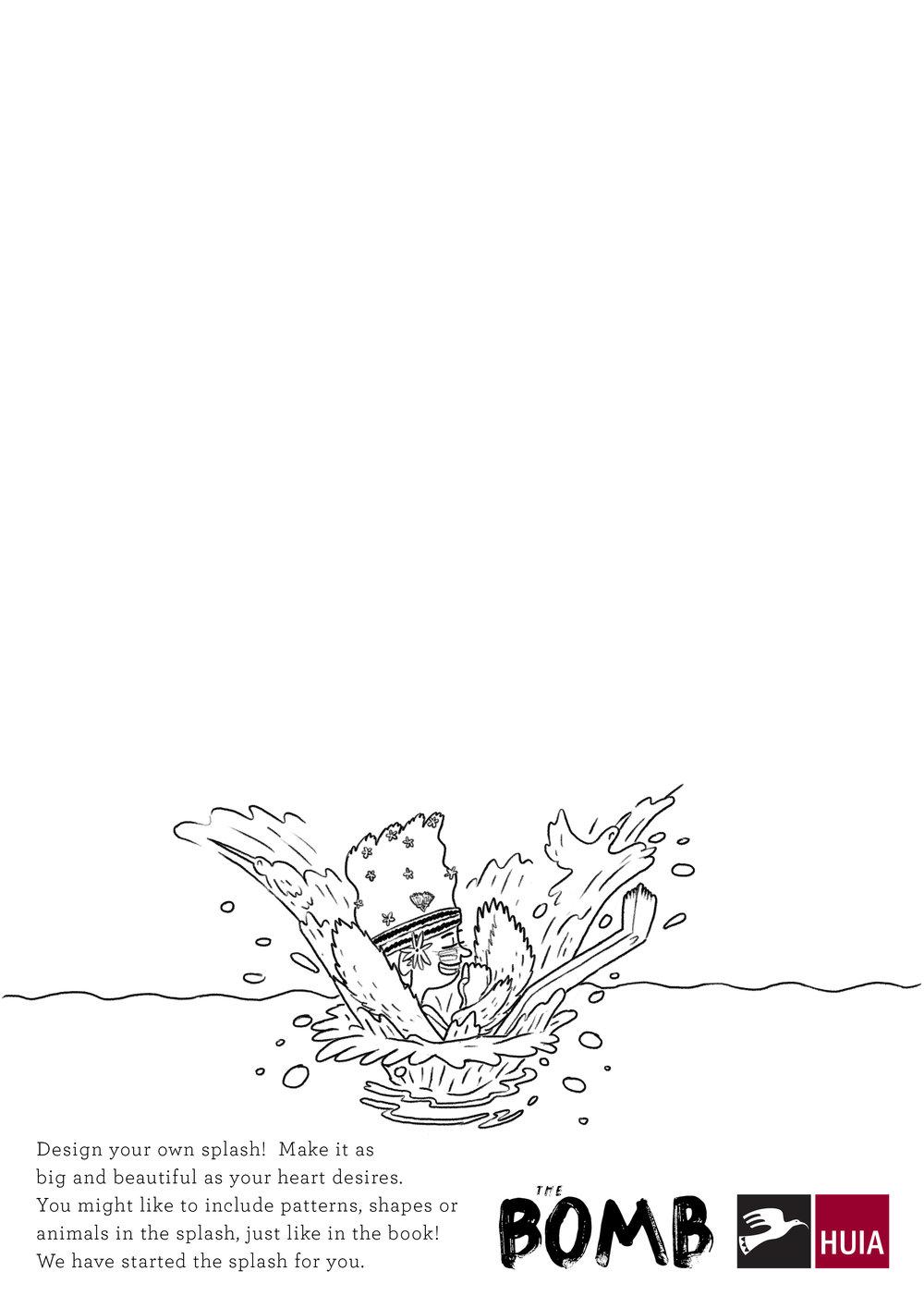 The Bomb - Design your own Splash