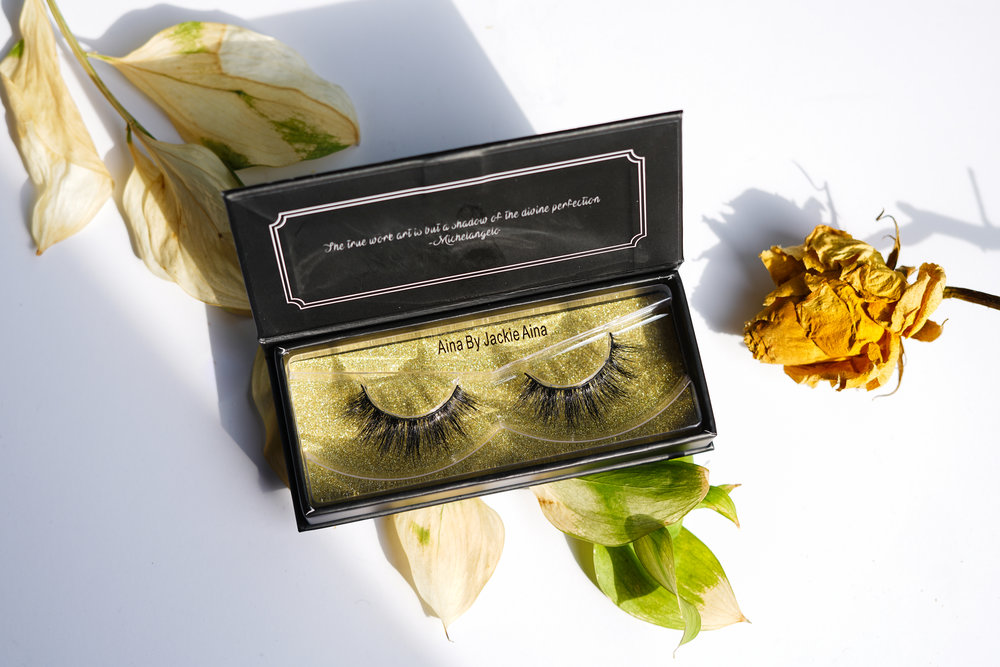 Lashes are a cruelty-free, silky synthetic blend. Shelf life: infinite