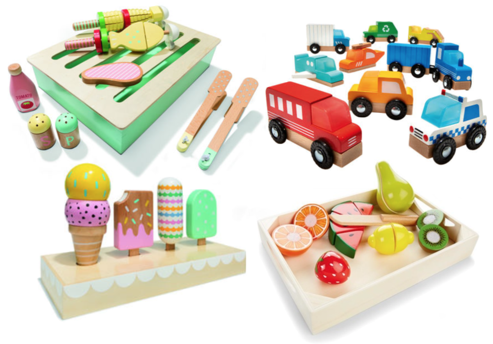 The Little Directory - KMART wooden toys