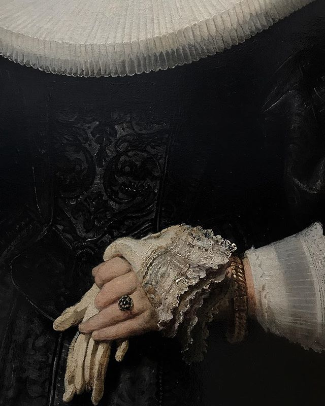 Exquisite details from #rembrandt ——————#nationalgallery #dublin #artmuseum