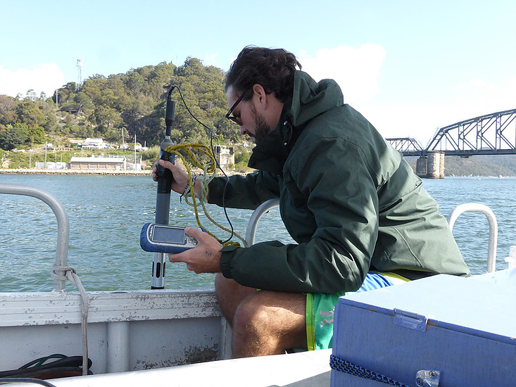 Selvo Barroso sampling water.jpg